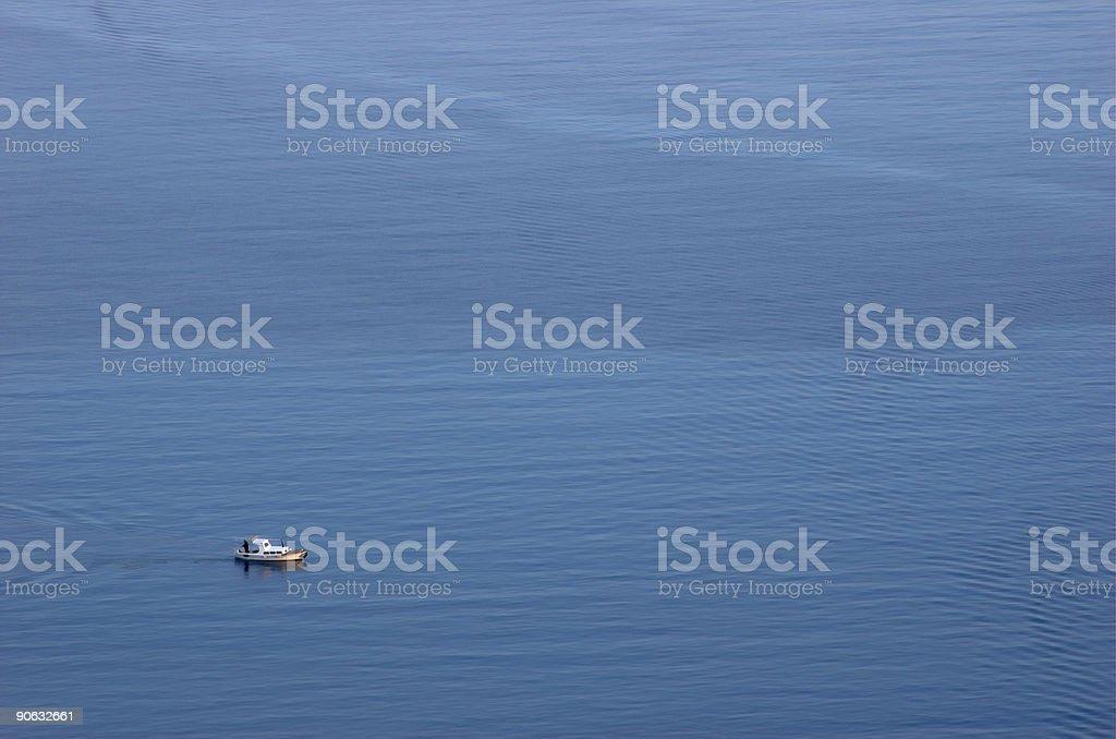 Piccola barca foto stock royalty-free