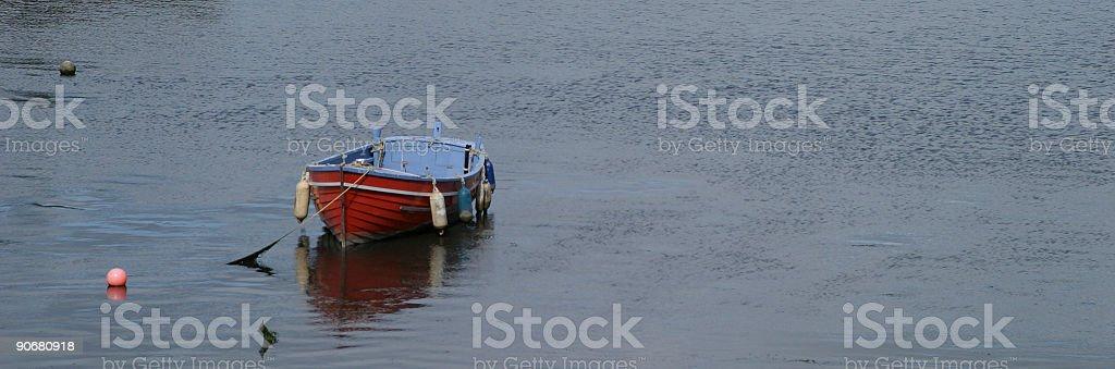 Small boat royalty-free stock photo
