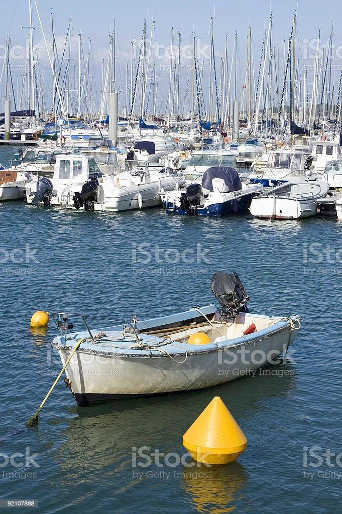 Small boat royalty-free stock photo
