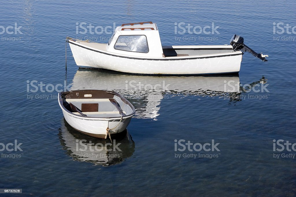 Small Boats, Moored royalty-free stock photo