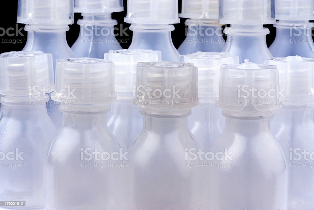 small bottle stock photo
