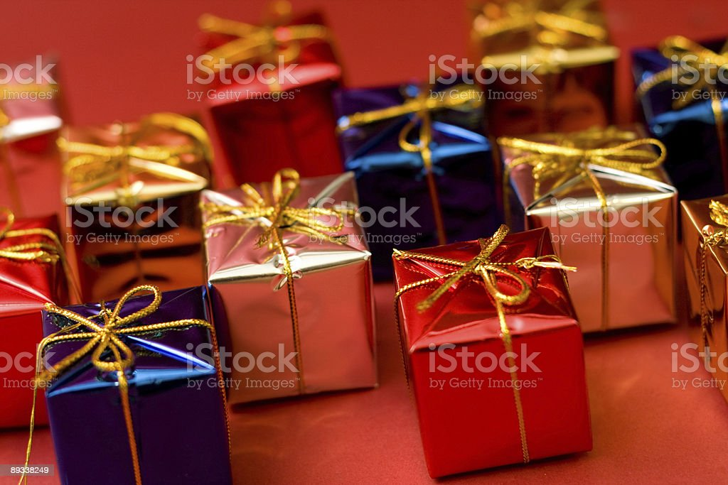 Small boxes royalty-free stock photo