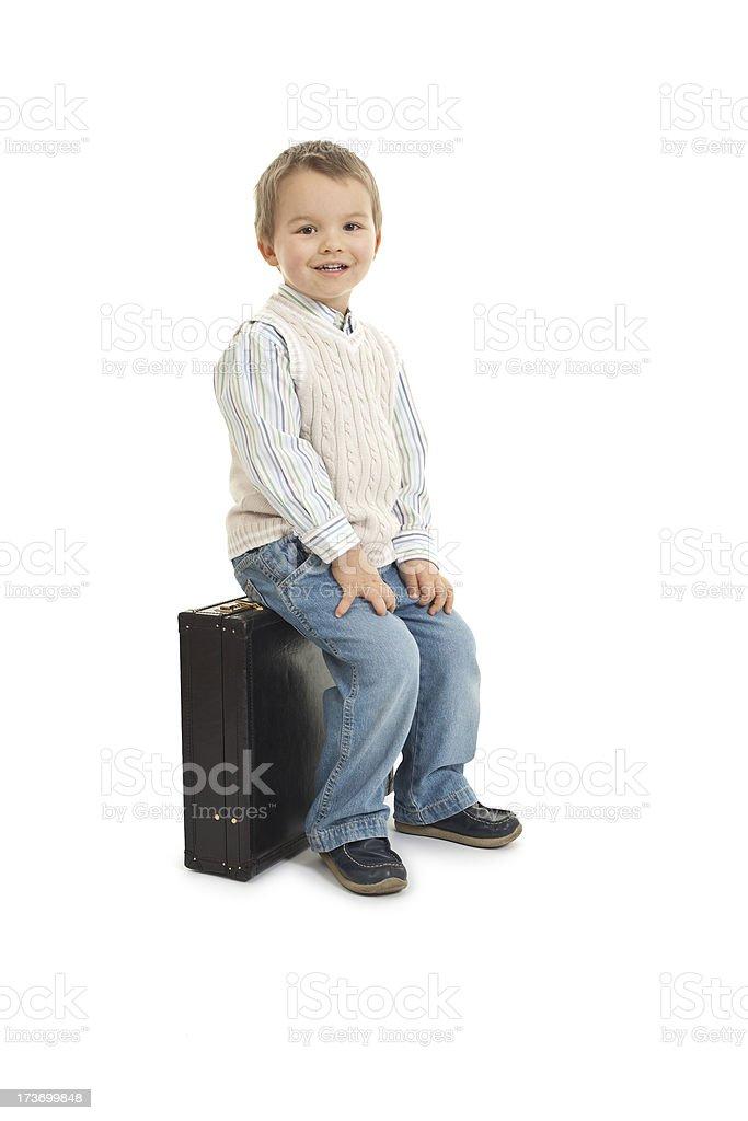 small boy royalty-free stock photo