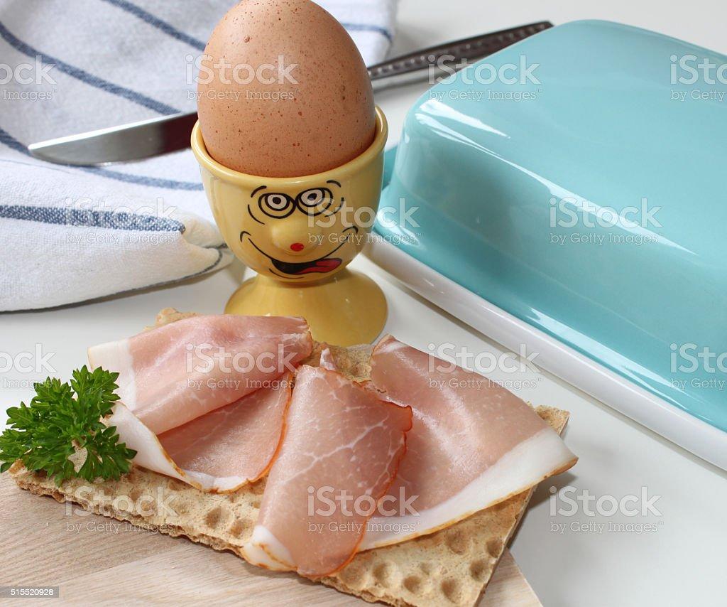 small breakfast stock photo