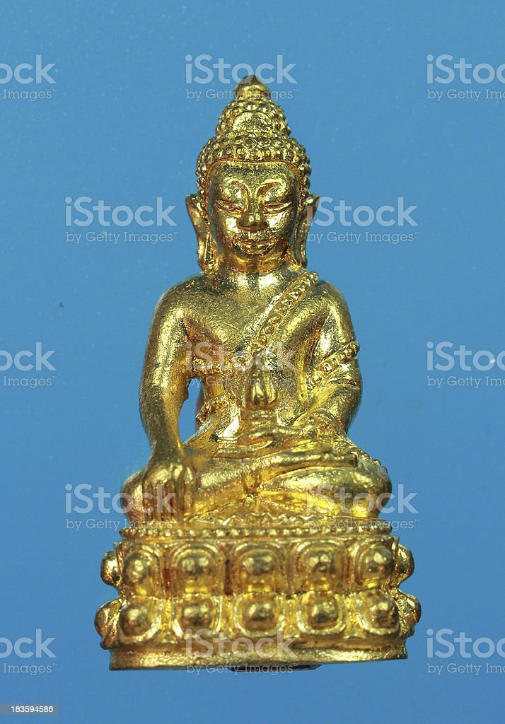 Small buddha 40 royalty-free stock photo