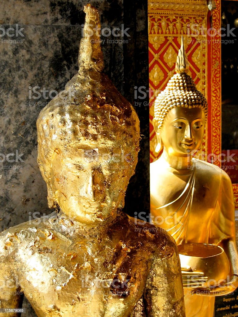 small buddha detail royalty-free stock photo