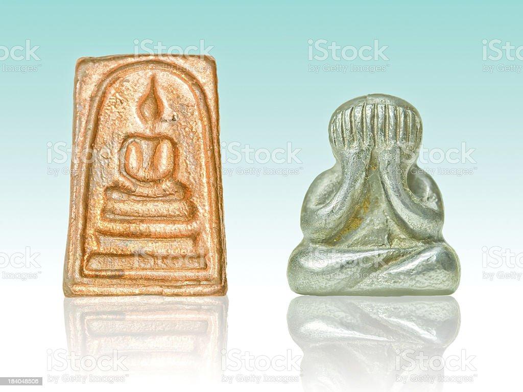 Small Buddha image royalty-free stock photo