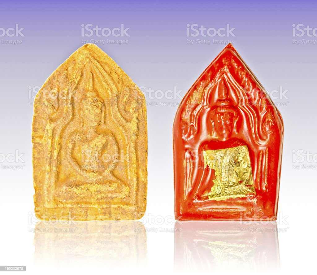 Small Buddha image royalty-free stock photo