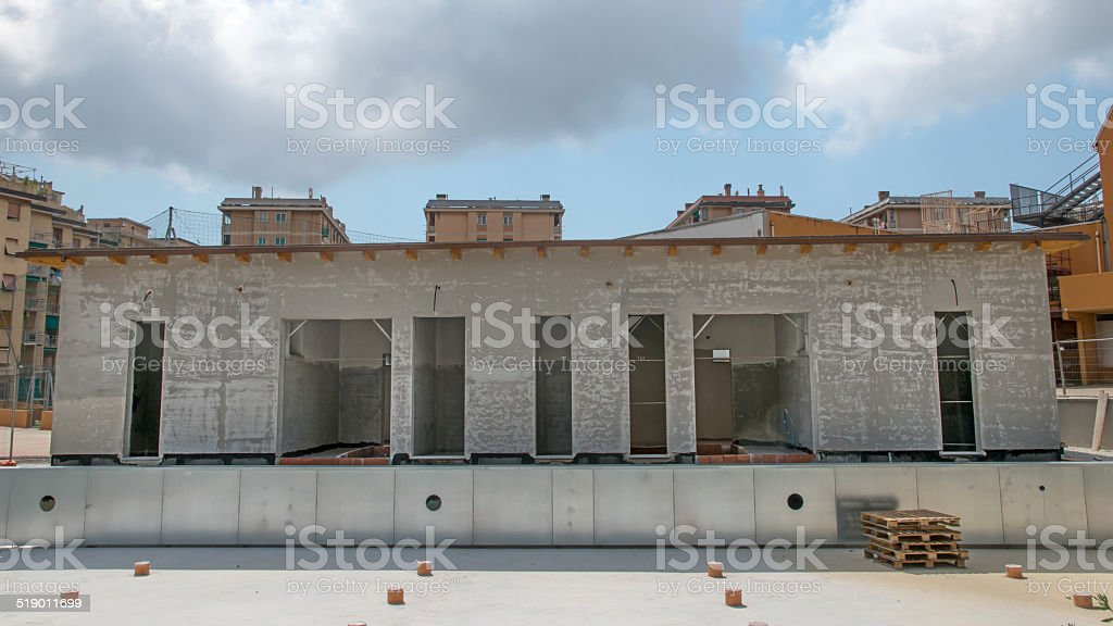 small building royalty-free stock photo