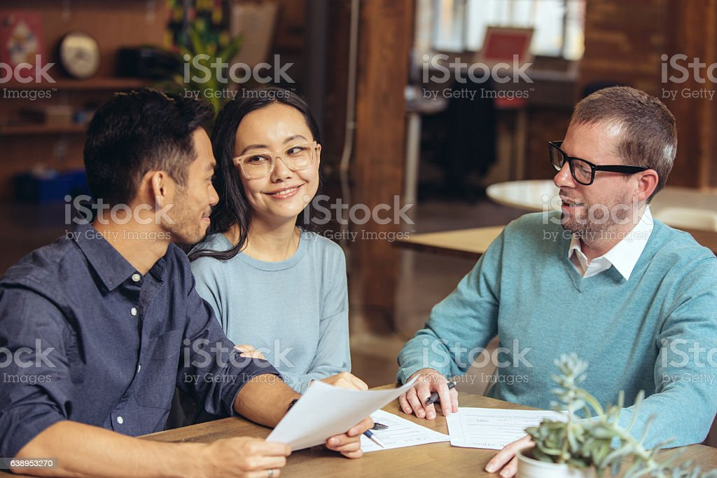 Small Business and Commercial Banking Services stock photo