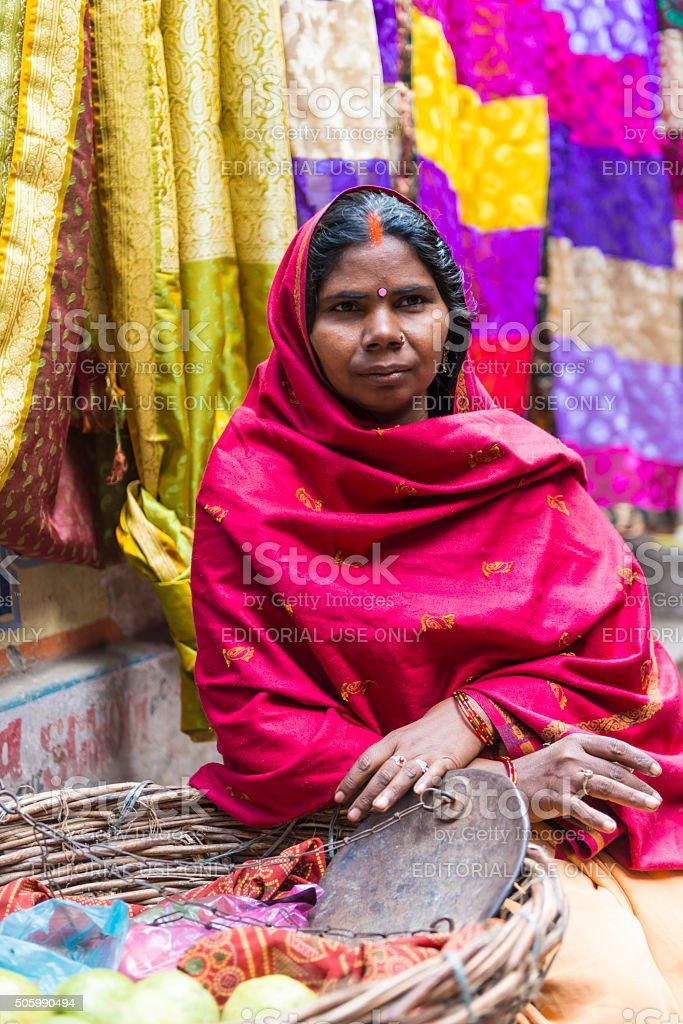 Small business in Kolkata stock photo