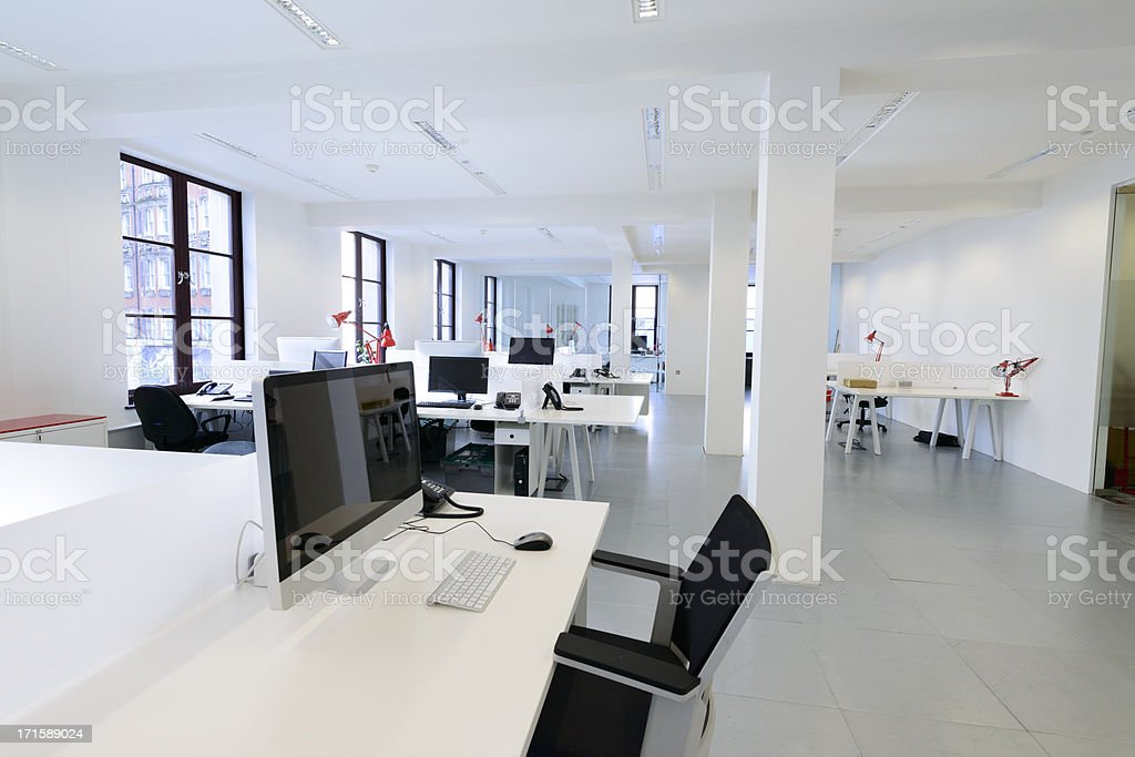 Small Business Office stock photo