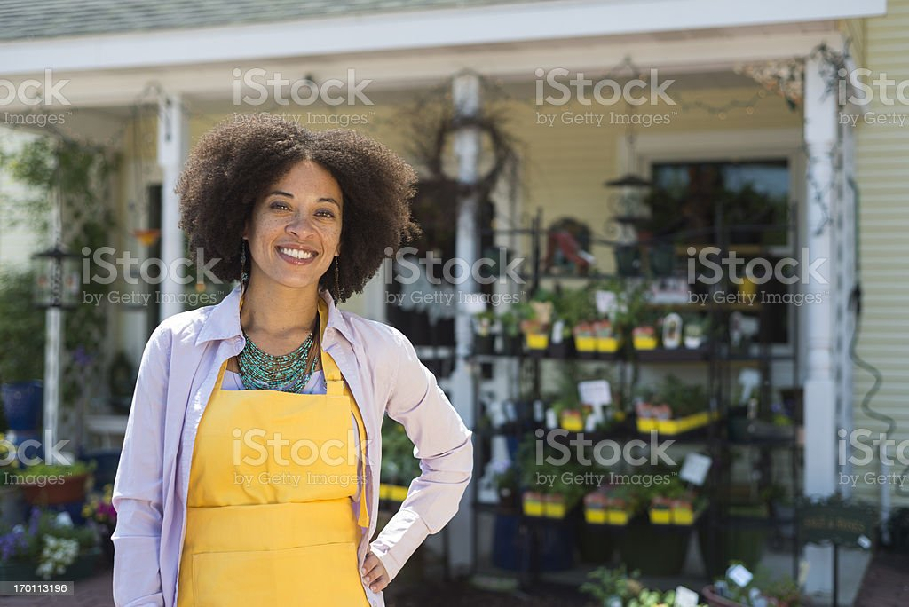 Small Business Owner royalty-free stock photo