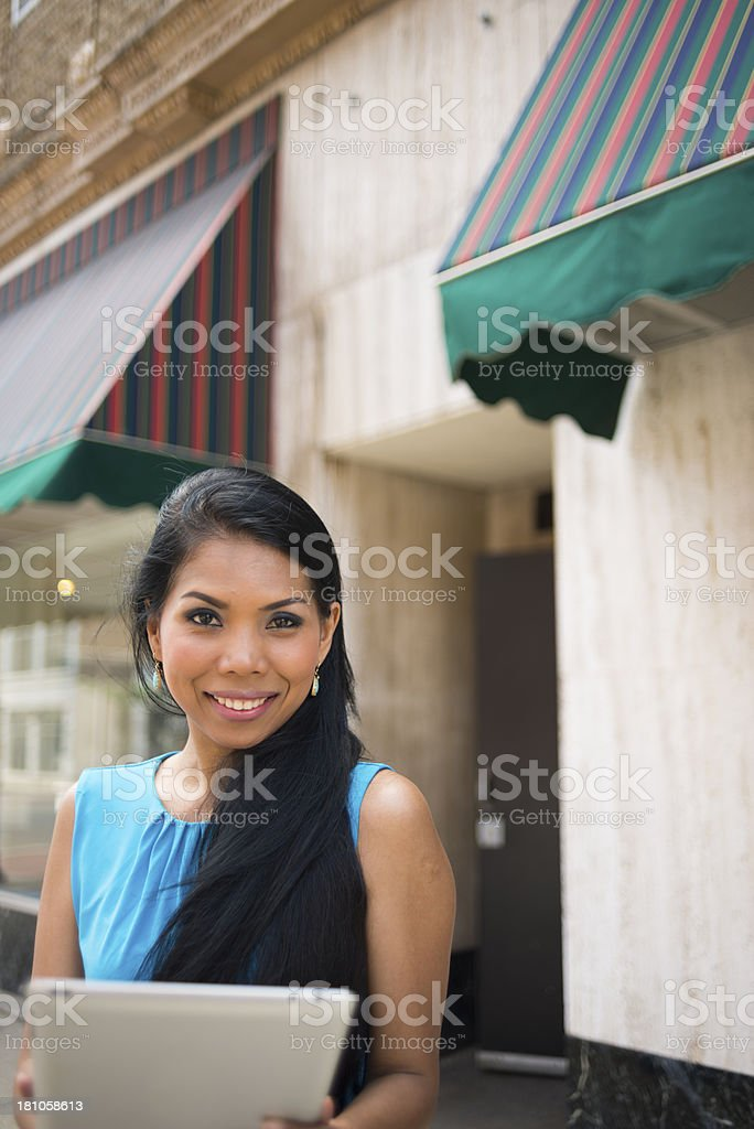 Small Business Owner Working royalty-free stock photo