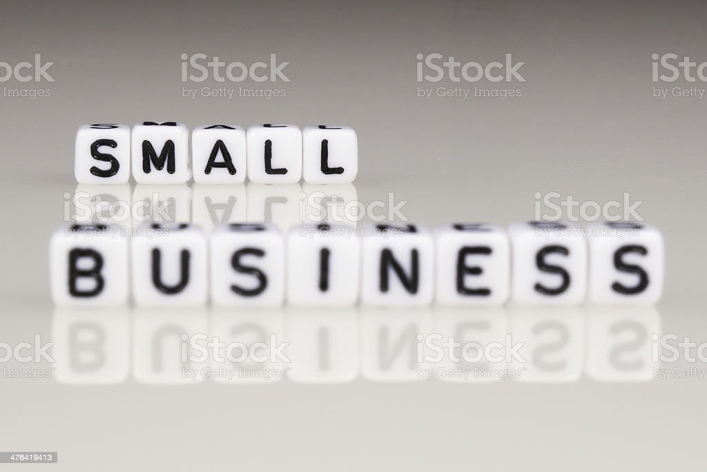 Small Business royalty-free stock photo