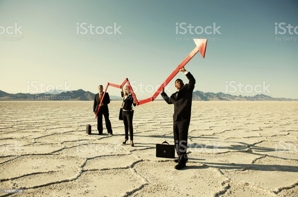Small Business Rebound royalty-free stock photo