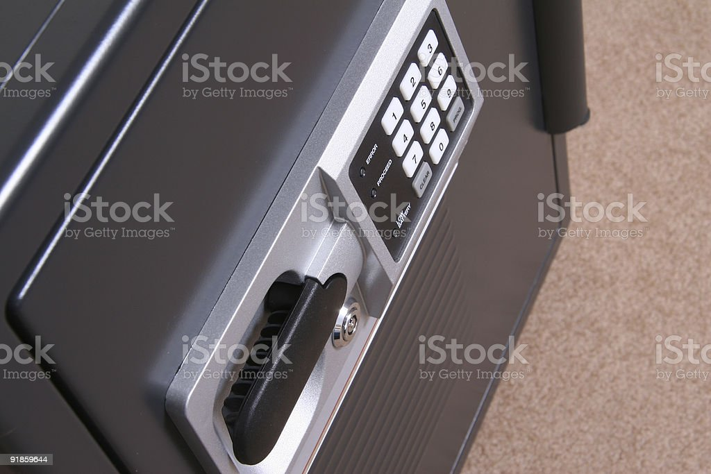 Small Business Safe II stock photo