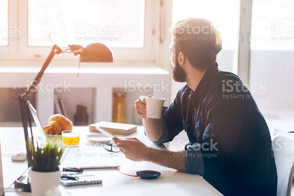 Small business, success story stock photo