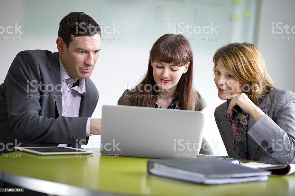 small business team royalty-free stock photo
