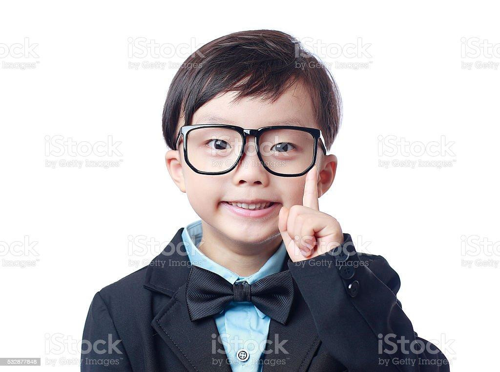 small businessman stock photo