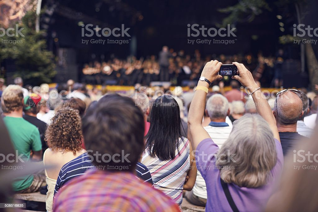 Small cameras capture great memories stock photo