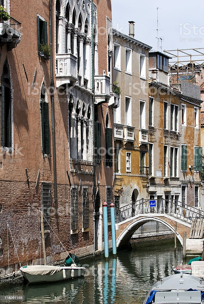 small canal in Venice royalty-free stock photo