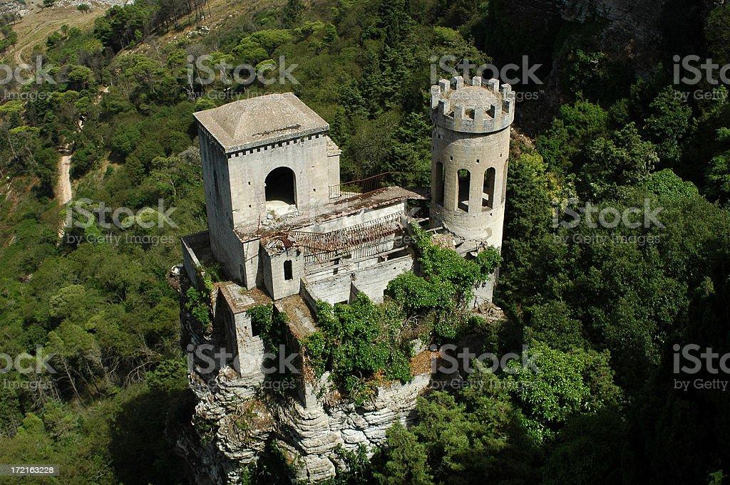 small castle stock photo
