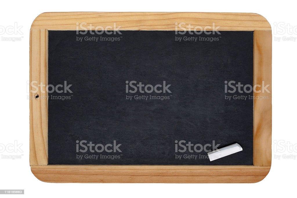 Small Chalkboard royalty-free stock photo