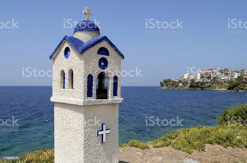 small chapel stock photo