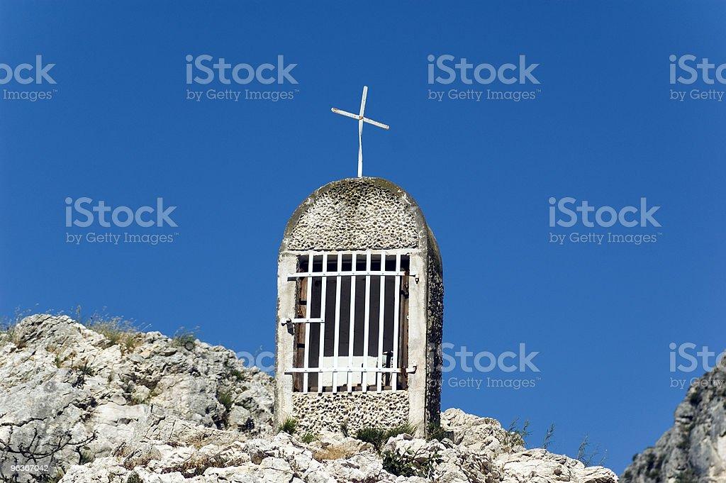 Small chapel royalty-free stock photo