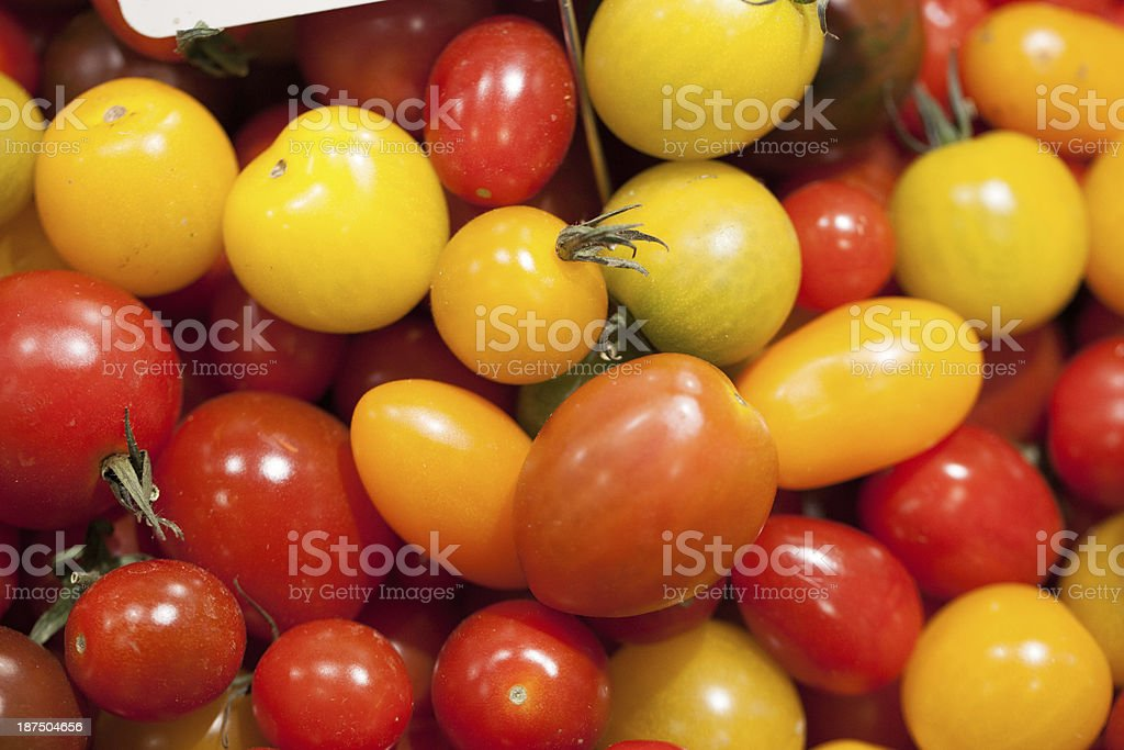 small cherry tomatoes for cocktail party royalty-free stock photo