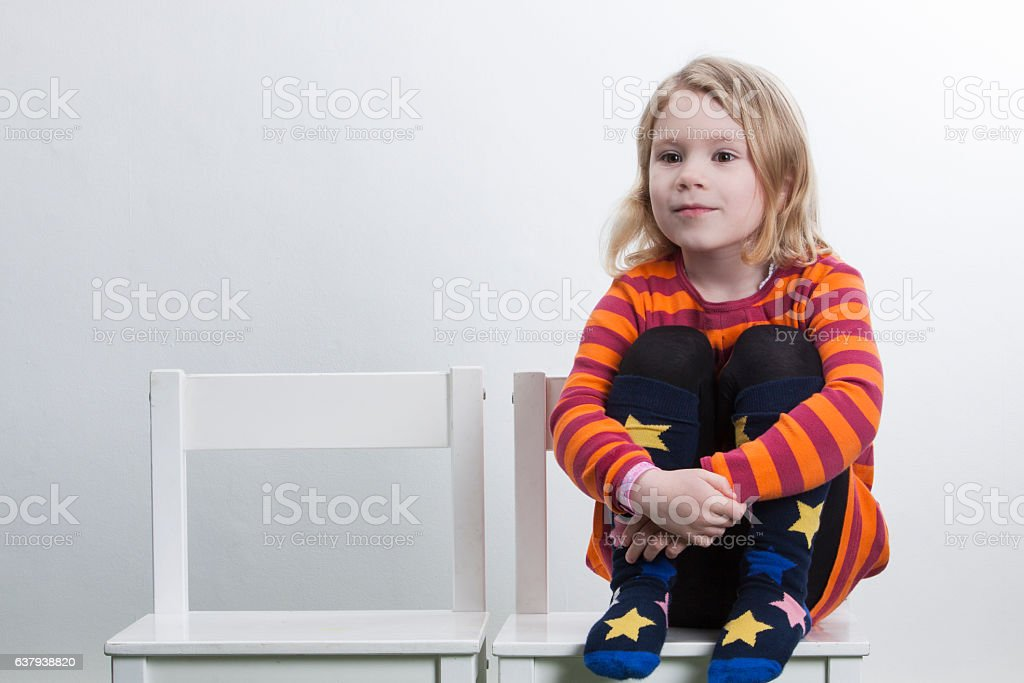Small Child Portrait stock photo
