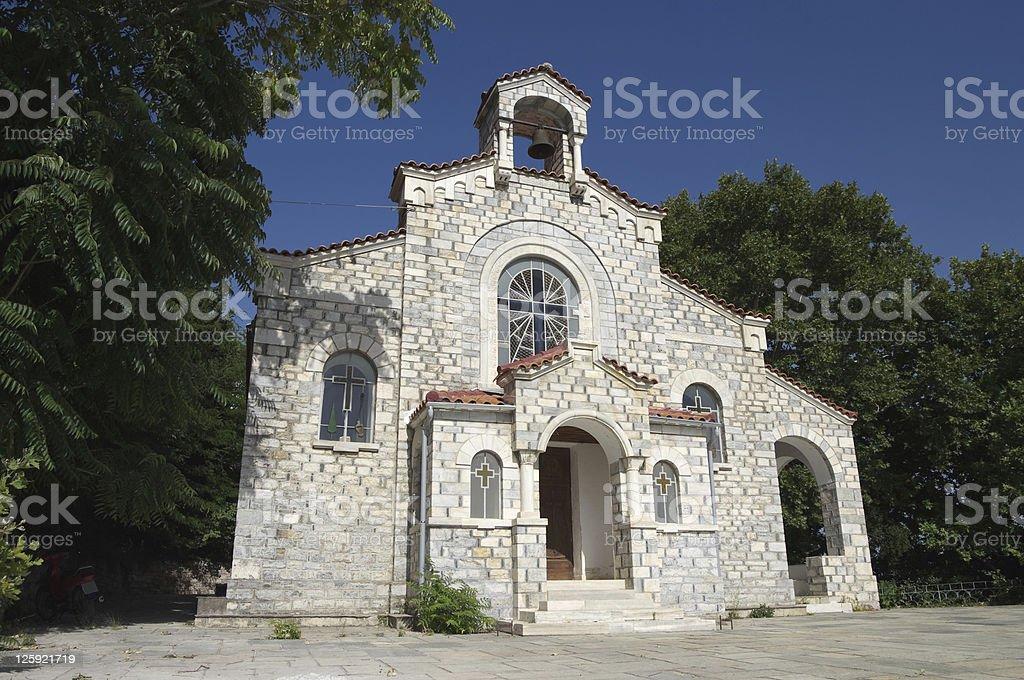Small Church Orthodox stock photo