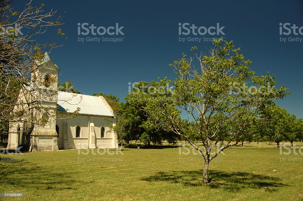 Small church stock photo