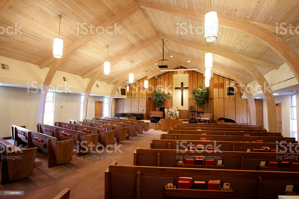 Small Church Sanctuary Stock Photo 172364601 IStock