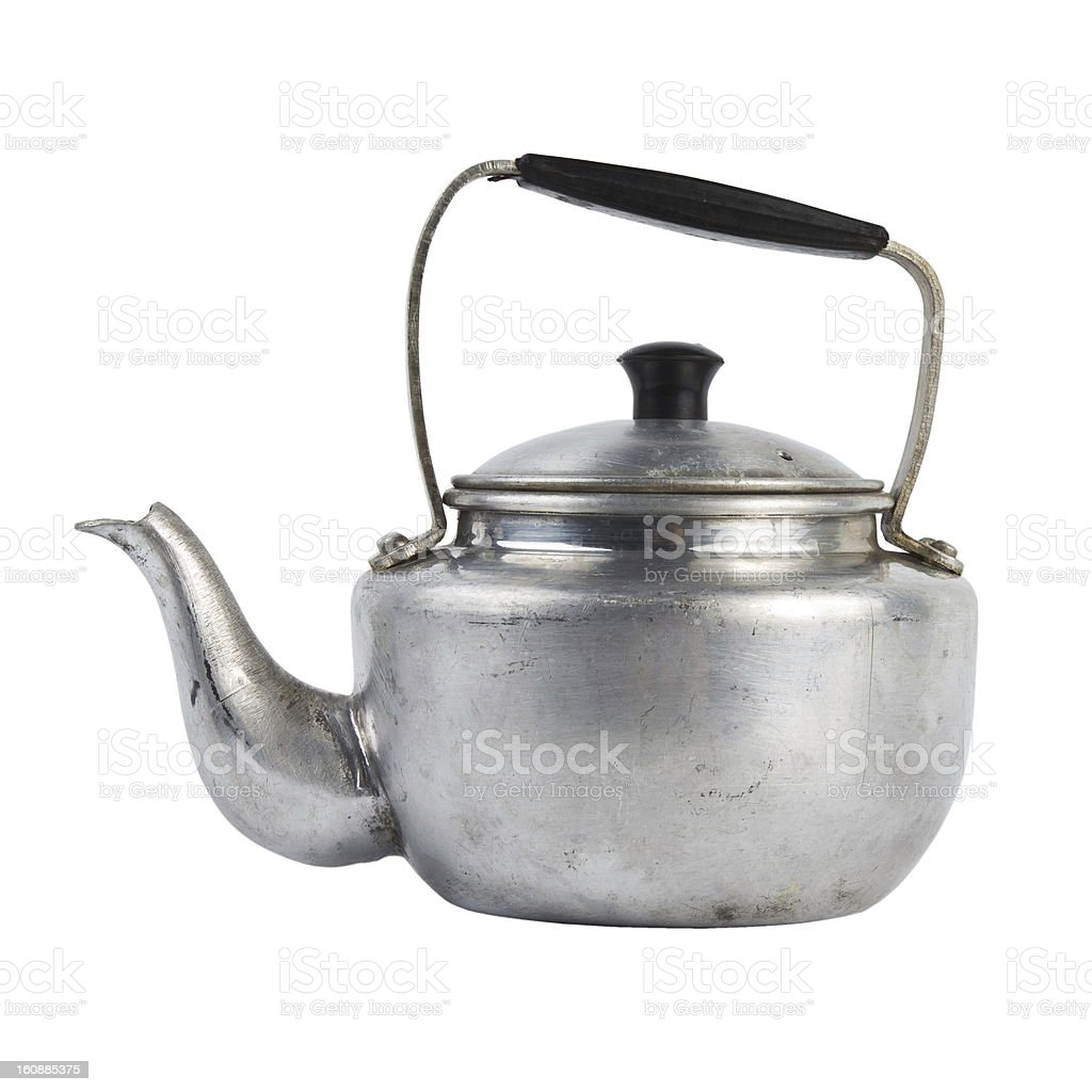 Small classic kettle royalty-free stock photo