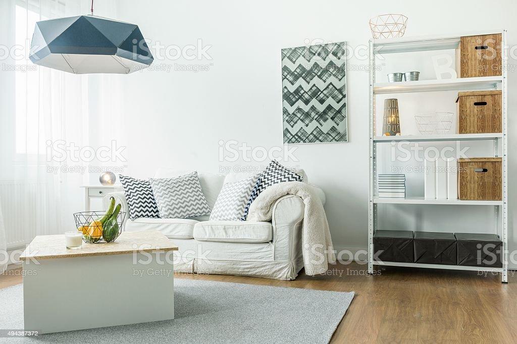 Small comfortable room stock photo