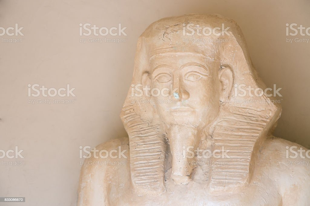 A small copy of the Sphinx stock photo