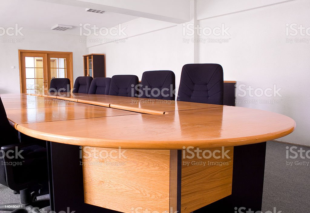 Small corporate meeting room royalty-free stock photo