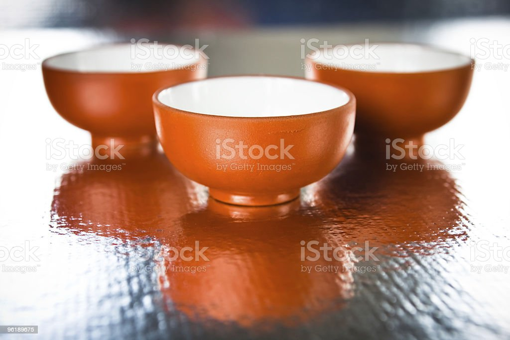 small cups royalty-free stock photo