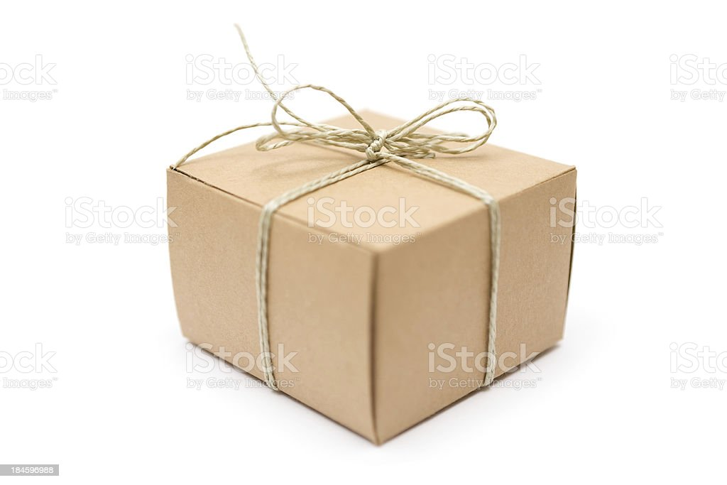 Small Decorated Packet royalty-free stock photo