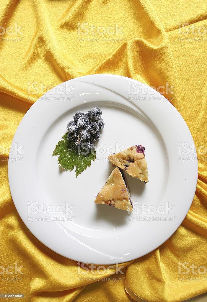 Small dessert royalty-free stock photo