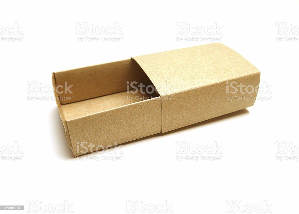 Small Empty Box stock photo