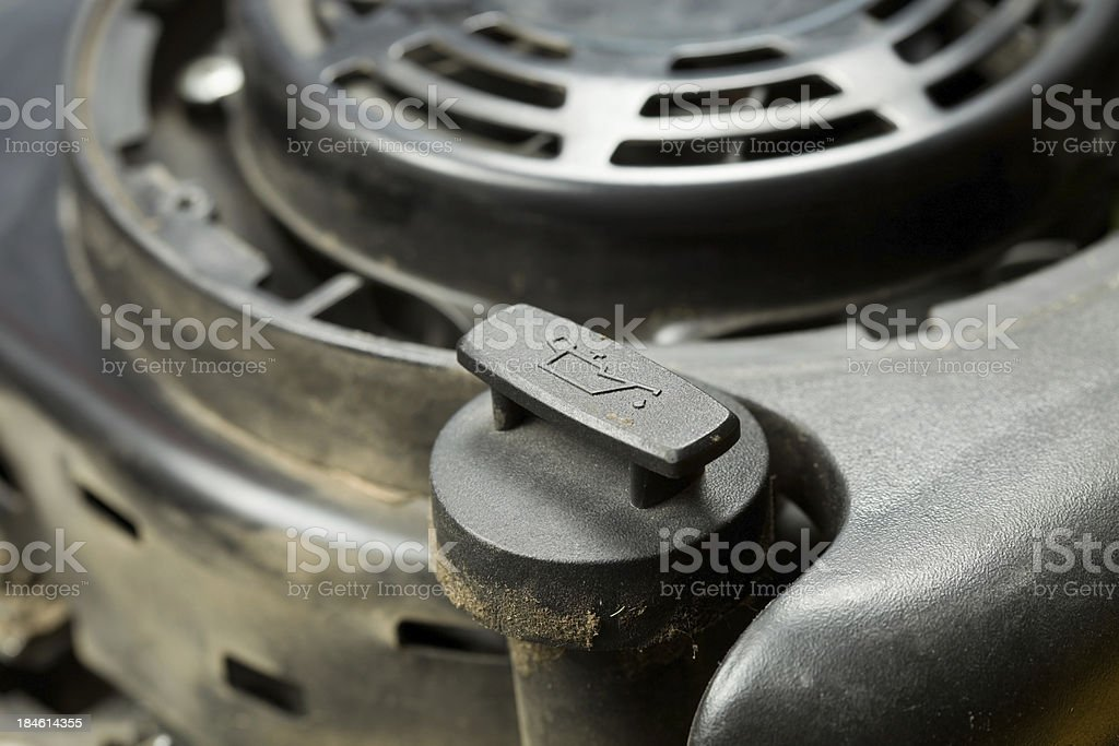 Small Engine Oil Fill Cap royalty-free stock photo