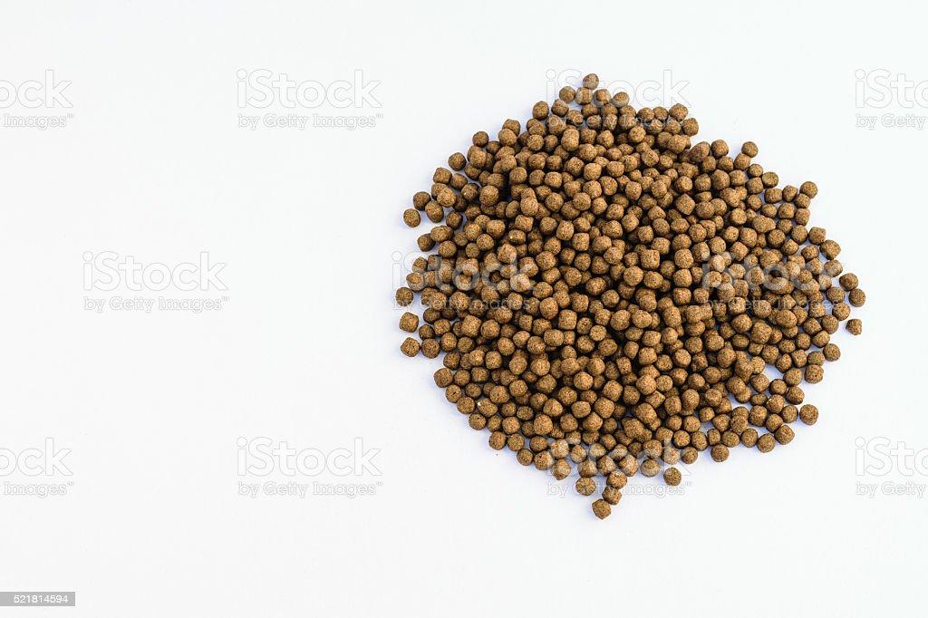 Small Fish feed stock photo