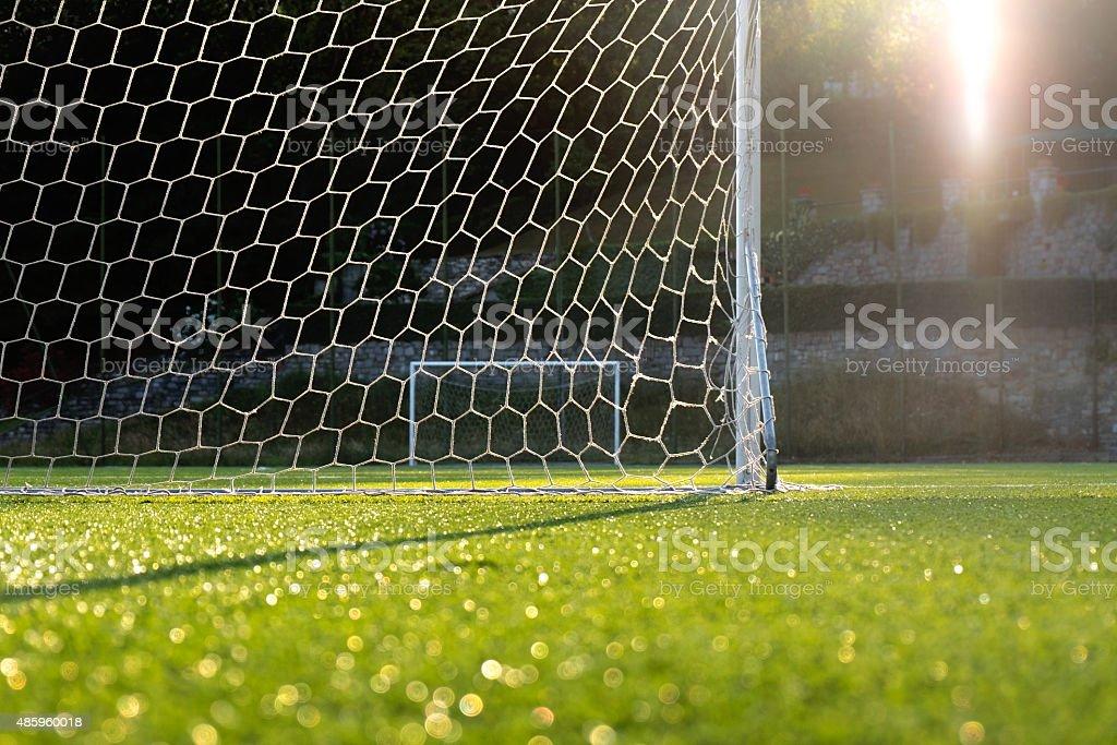 Small Football Ground stock photo