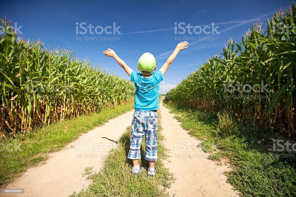 Small free farmer stock photo