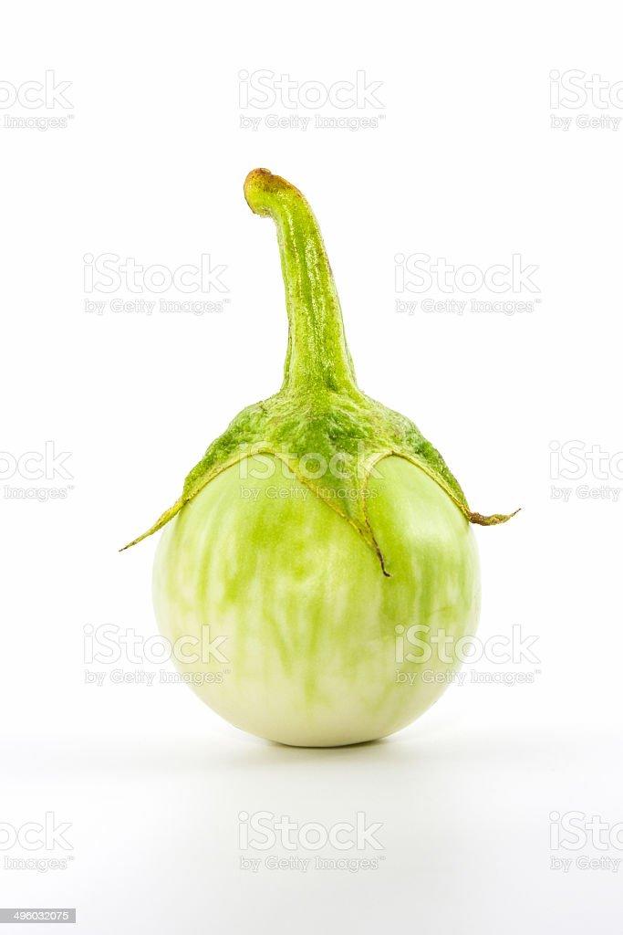 Small fresh eggplant. royalty-free stock photo