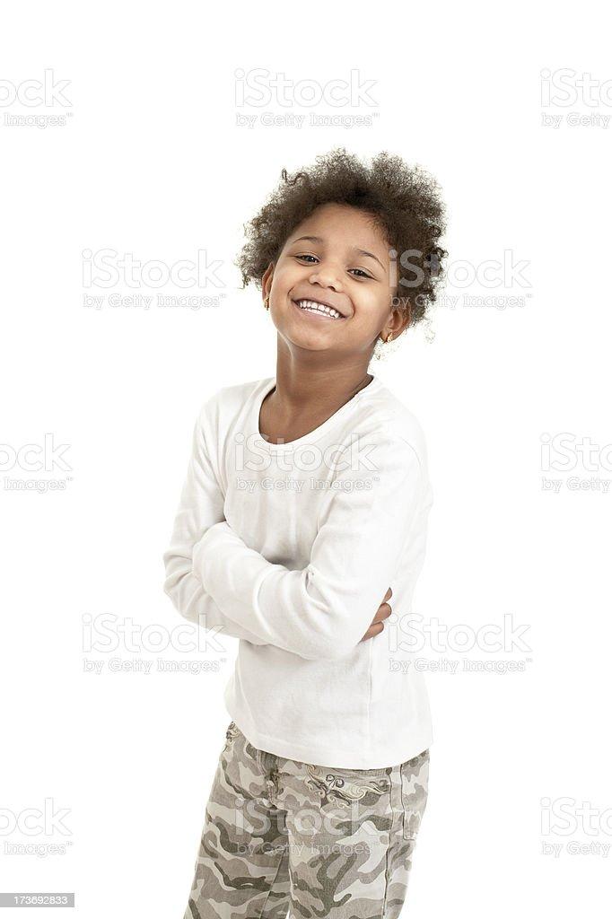 small girl royalty-free stock photo