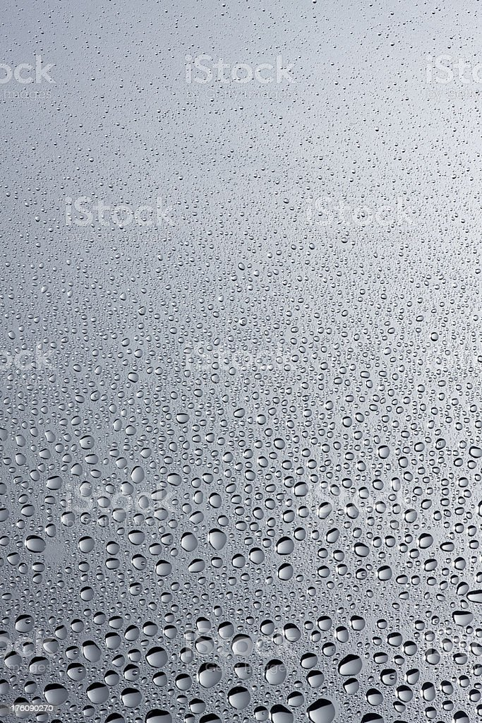 Small glistening droplets of condensation royalty-free stock photo